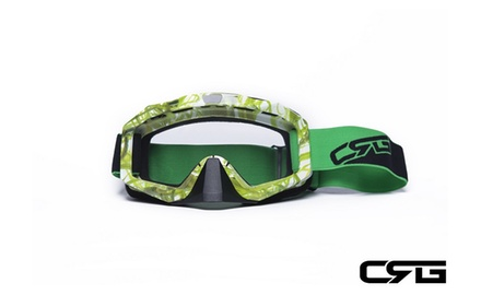 CRG Motocross ATV DIRT BIKE OFF-ROAD RACING GOGGLES Adult T815-81-3