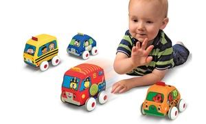 Melissa & Doug Pull-Back-and-Go Toy Vehicles (Set of 4)