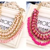 Bohemia Style Drop Beads Weaved Necklace