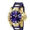 Invicta 6254 Blue Dial Quartz 3 Hand Excursion Men's Watch