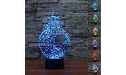 Disney, Superhero, Star Wars, and More 3D Illusion Decorative Lights
