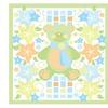 Grace Riley Teddy Bear and Flowers Canvas Print