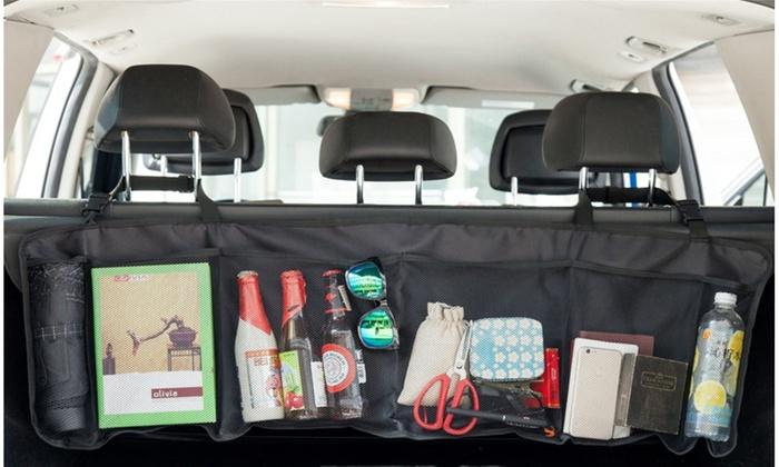 Hanging Back-Seat Car Organizer | Groupon