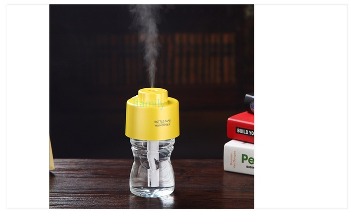 2016 With Bottle With Light Usb Water Cap Humidifier Aroma Diffuser