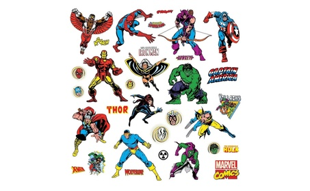 Roommates RMK2328SCS Marvel Classics Peel and Stick Wall Decals b5f36b18-5118-4f54-9c28-35a0f2f1f5b9