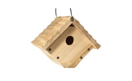 Audubon NAWREN1N Bird House, Red Cedar, 6.25