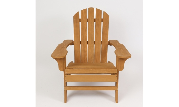 Hemlock Wood Adirondack Chair Groupon