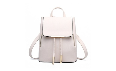 Casual Purse Fashion Backpack for Women & Girls (Goods Women's Fashion Accessories Handbags Leather) photo