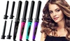 Marquee Beauty 5-in-1 Superior Ceramic Clipless Hair Curling Set