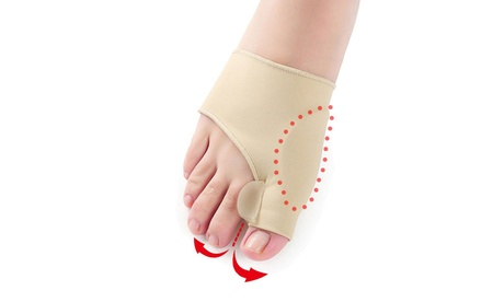 1 Pair Foot Bunion Sleeves Hallux Valgus Protector Corrector Orthotics Feet Care