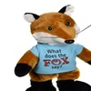 """Chantilly Lane The Fox Sings What Does The Fox Say Plush, 12"""""""