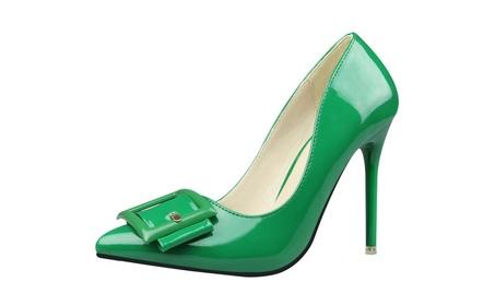 Women's Elegance Pointed Closed Toe Stiletto Pump Heels 5111bd4e-fe4d-40c1-823d-00f287a3ce02