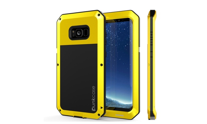 buy popular b2ad9 e3d4c Galaxy Note 8 Metallic ShockProof Case - PunkCase | Groupon