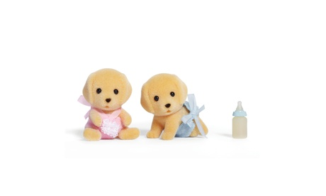 International Playthings - Calico Critters - Yellow Labrador Twins 3ff5ce0a-aaa5-463b-a7d4-949ede117972