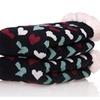 Women's Soft Fleece Lining Christmas Knee High Slipper Socks