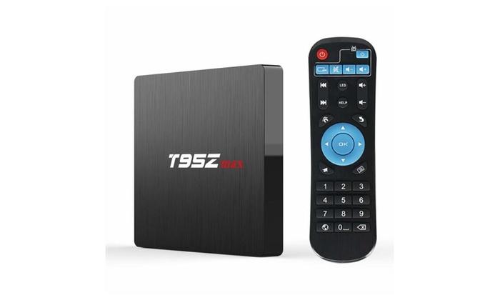 Kingbox T95Z Max Android 7 1 TV Box 3GB+32GB Wi-Fi H 265 3D 4K TV