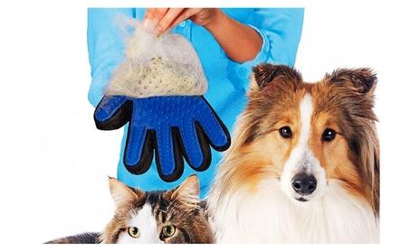 Pet Grooming Glove Dog Cat Massage Gloves De-Shedding Brush Glove 3cdd8c95-bc8c-4a5a-8a1f-b730253f85ad