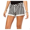 Women's Printed PullOnStyle Loose Casual Thigh Length Shorts