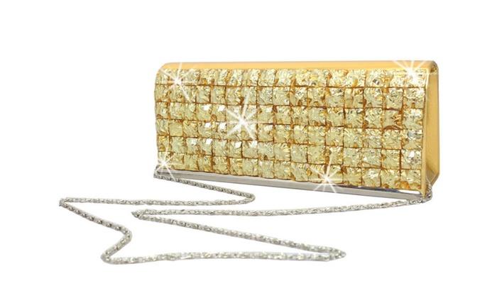 Luxury Crystal Clutch Purse