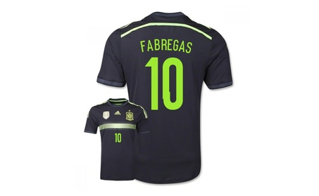 Boys Spain 2014 Fifa World Cup Away Jersey Fabregas 10 805ddfe1-227f-433b-83be-38f89cfdd01f