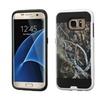 Insten Hard Dual Layer Case For Samsung Galaxy S7 Edge Yellow/black