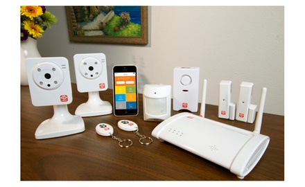 Oplink Connected Home Security Alarm System