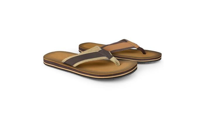 Vance Co. Mens Casual Flip Flop Sandals