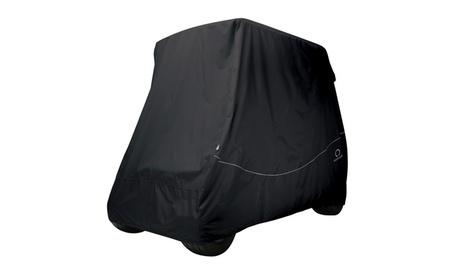 Fairway Golf Car Quick-Fit Cover, Black, Short Roof 56ab6aa5-bb05-4d33-a852-45c01ce4d44c