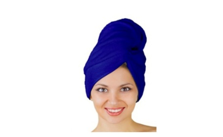 Unique Microfiber 123 Hair Drying Turban 66482542-f4f5-43c7-b4a8-47b11e7a1aff