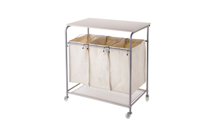 Laundry Sorter And Hamper With Ironing Board By Nova Furniture Group