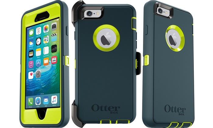 finest selection b6efa a4d3a OtterBox Defender Series Case and Belt Clip for Apple iPhone 6/6s ...