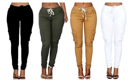 New Fashion Women Candy Pants Pencil Trousers
