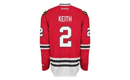 Mens Chicago Blackhawks Duncan Keith Premier Home Jersey 20e2427e-6fa7-43b1-a4f7-57c8b77fa1ab