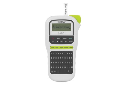 Brother P-touch Easy Portable Label Maker (PTH110) 50a708c5-918d-49d9-af07-7b1f29e072ae