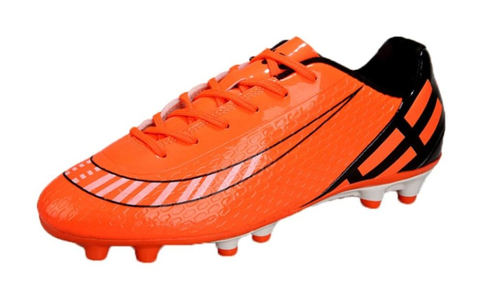 Women's Casual Lace up Rubber Soccer Shoes