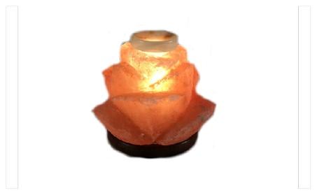 Aroma Rose Himalayan Salt Lamp