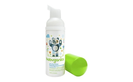 BabyGanics Alchohol- Foaming Hand Sanitizer On-the-Go 1.69-ounce Tange a9961544-5c74-4116-9e2f-2e56d90d84aa