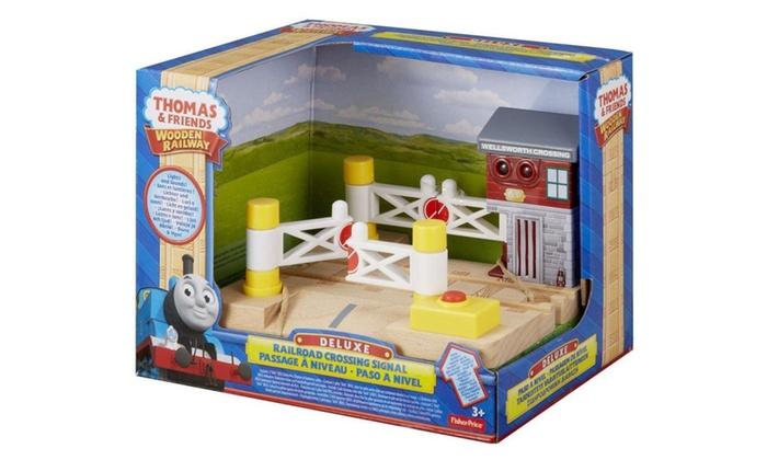 Thomas & Friends Wooden Railway, Deluxe Railroad Crossing