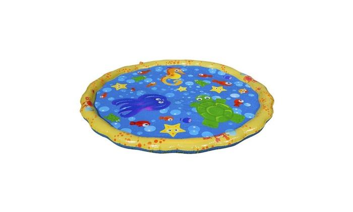 54in-Diameter Sprinkle and Splash Play Mat