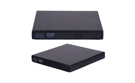 Portable USB 2.0 External DVD-ROM CD-RW Burner Drive with free bag 59d53feb-0978-4f4d-801d-a0c4fce2b04f