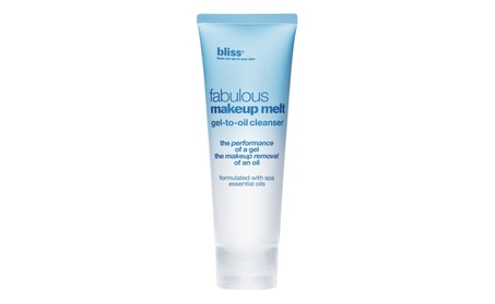 Bliss Fabulous Makeup Melt Gel-To-Oil Cleanser 4.2 OZ 914f14be-7934-4923-9db9-fb43ae4eb05a