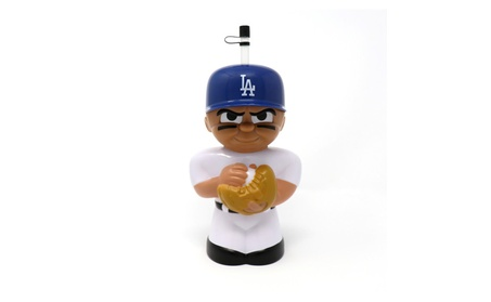Los Angeles Dodgers TeenyMates Big Sip 16 oz. Water Bottle 6d0fef0b-82fa-4f0d-85e2-718534532598