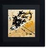 Roderick Stevens 'Dynomite' Matted Black Framed Art
