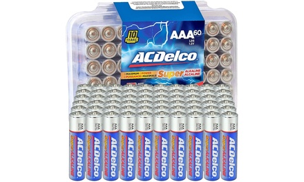 ACDelco AAA Batteries (60-Pack) or (100-Pack)
