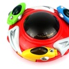 Magic UFO Battery Operated Kid's Bump and Go Toy Saucer Car