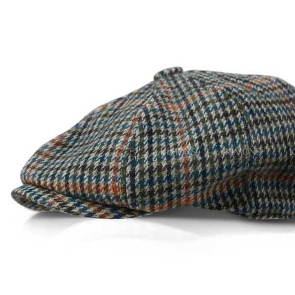 ee5a724a003d3d Applejack Wool Plaid Ivy Hat Gatsby Cap Golf Cabbie Flat Newsboy | Groupon