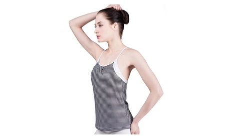 Lady Activewear Cool Workout Tank Tops With Cross Back 935648a7-342e-4337-84f2-911241eaa6c0