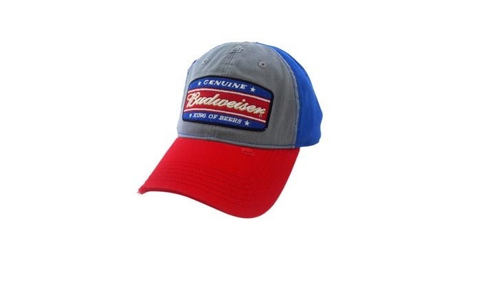 King of Beers Budweiser Snapback CAP One Size