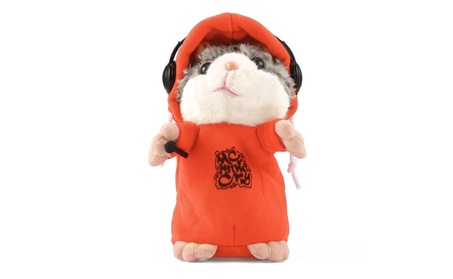 Hamster Mouse Pet Plush Talking Sound Record Toy 43329977-d99c-44f9-8451-6010cd407c45