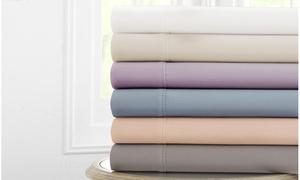 600TC 100% Finest Combed-Cotton Deep-Pocket Sheet Set